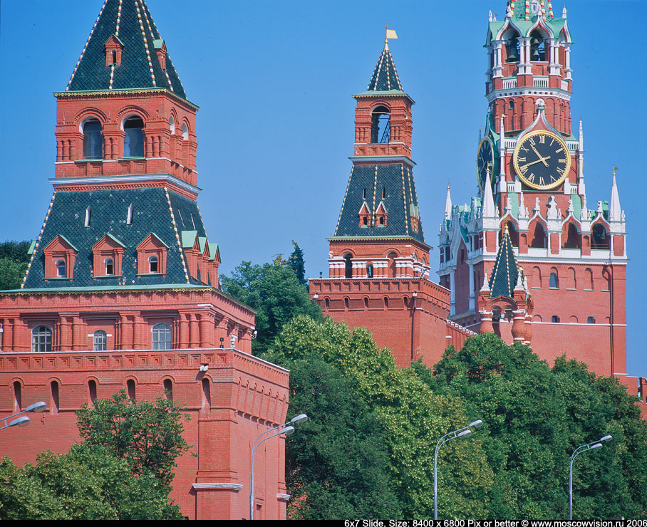 The Towers of Moscow Kremlin
